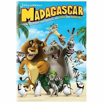 Madagascar (DVD, 2005, Widescreen) VERY GOOD