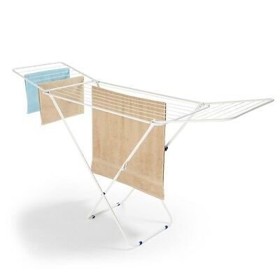 Winged Foldable Clothes Airer Drying Line Rack Dryer Laundry Indoor Hanger Wash