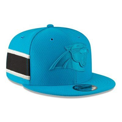 f384284a9 Carolina Panthers New Era 2018 NFL Sideline Color Rush Official 9FIFTY  Snapback