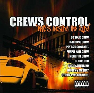 Various Artists-Crews Control MC'S Inside the Ride DOUBLE CD
