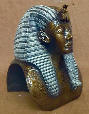 Ancient Egyptian Statue Of King Tut Mask Sculpture Hand Made