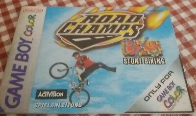 Game Boy Color Road Champs original Anleitung Instruction Nintendo