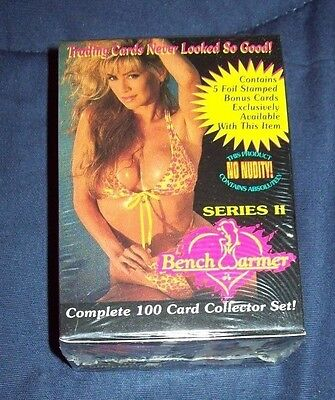 Sealed 1994 Series II Bench Warmer Complete Set-Includes 5 Bonus Cards
