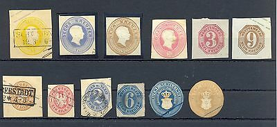 Germany States  12  Ps Cut Outs  0/*   Most Vf
