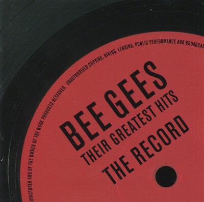 Bee Gees - Their Greatest Hits (The Record, 2 X CD)