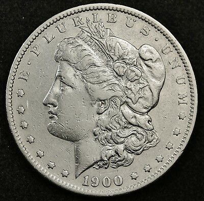 1900-s Morgan Silver Dollar.  High Grade.  133897