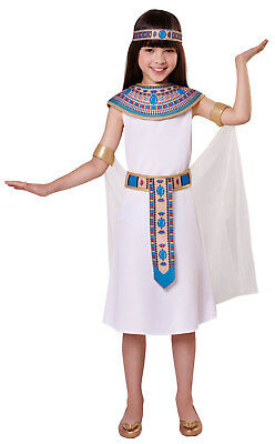 Egyptian Queen Cleopatra Girls Book Day Fancy Dress Ancient History Costume 4-12