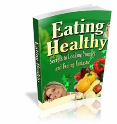Eating Healthy PDF +5 Bonus book Free Shipping with Master Resell Rights