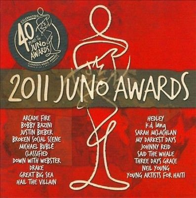 Juno Awards 2011 by Various Artists (EMI Music) SEALED Drake Arcade Fire Hedley