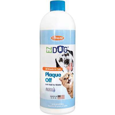 EZ Dog Pet Plaque Off 16oz   746248201907