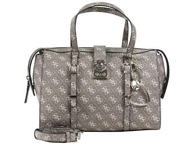 GUESS WOMEN S JOSLYN Mocha Monogram Satchel Handbag -  118.00  de5a62481cd69
