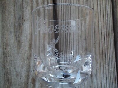 Chenco Tumblers Rocks Glasses Clear Acrylic Engraved Phoenix Anchor Rope NIB