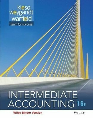 Intermediate Accounting 16th edition by D. Warfield,E.Kieso 2016 (E-B00K) {PDF}