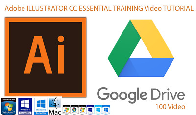 Adobe ILLUSTRATOR CC ESSENTIAL TRAINING & Logo Making 175 Video Instant Delivery