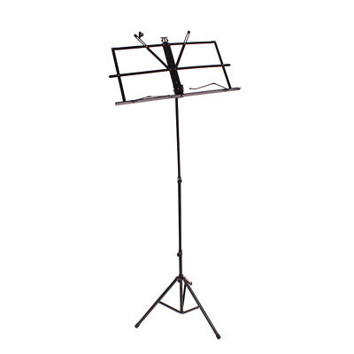Metal Adjustable Sheet Music Stand Holder Folding Foldable WITH CARRY CASE BAG