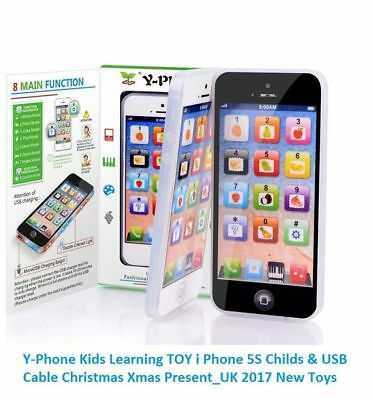 CHILDRENS EDUCATIONAL TOYS Phone Learning Kids Y-Phone Fake