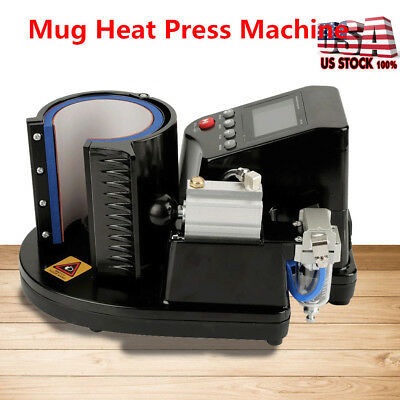 Auto Heat Press Machine Sublimation Transfer Printing For 11oz Mug Coffeee Cup