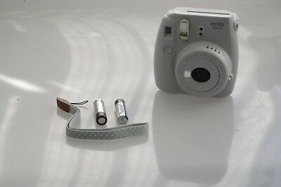 instax Mini 9 Camera - Smoky White - USED - (NO FILM)