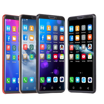 """6.1""""/5.0"""" Android7.1/6.0 HD IPS LTE Smartphone Dual Sim Mobile Phone + 16G Card"""