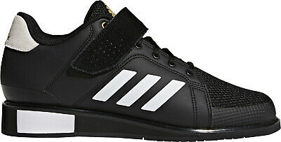 outlet store 0d314 5a6f7 adidas Power Perfect 3 Mens Weightlifting Shoes Black Bodybuilding Crossfit  Gym
