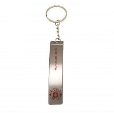 New Official Manchester United Football Club Bottle Opener Keyring Collectable