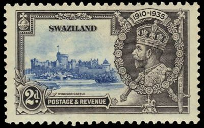 SWAZILAND 21 (SG22) - King George V Silver Jubilee (pa17805)