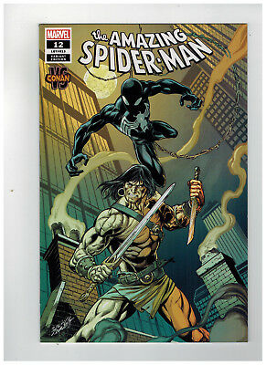 AMAZING SPIDER-MAN #12  1st Printing - Conan Variant Cover  / 2019 Marvel Comics