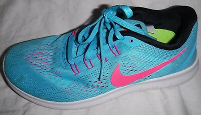 NIKE FREE RN Womens Size 7.5 Athletic Running Shoes 831509-401 ... 23ce47ba28