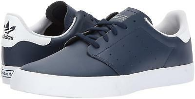 reputable site c56ef 6a5fc NEW IN BOX Adidas Seeley Court Skate Shoes in Collegiate Navy Blue sz 11.5