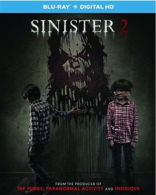 SINISTER 2 New Sealed Blu-ray
