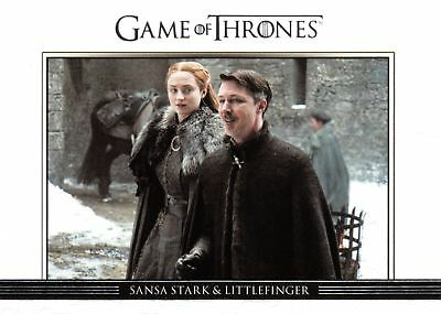Game of Thrones Season 7 RELATIONSHIPS Insert Card DL49 / SANSA & LITTLEFINGER