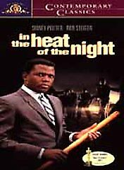 SIDNEY POITIER -  In the Heat of the Night - ROD STEIGER / LEE GRANT (Oscars!)