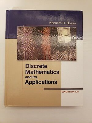 Discrete Mathematics And Its Applications By Kenneth H Rosen