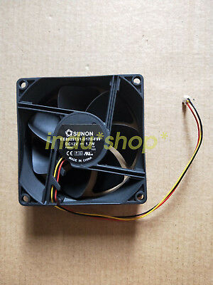 FOR ADDA cooling fan 8038 AD0812UB-Y53 80mm 8cm DC 12V 0.38A 3-wire case blower 808038mm
