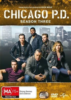Chicago P.D: Season 3 (DVD, 2016, 6-Disc Set) BRAND NEW/SEALED... Region 1