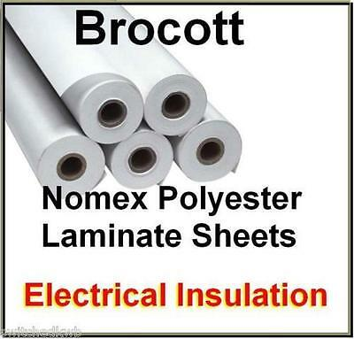 NOMEX LAMINATE INSULATION SHEET 900 x 200 x 0.14mm THICKNESS FOR COIL WINDING