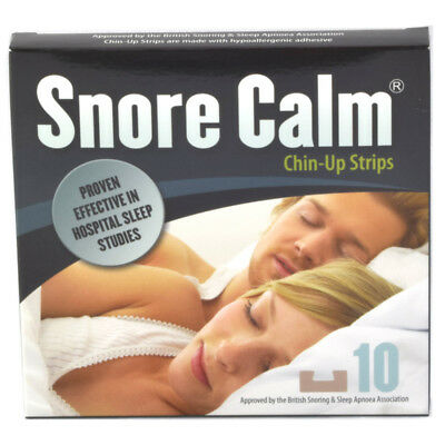 Snore Calm Chin-Up Strips Choice of 10 or 30 Pack