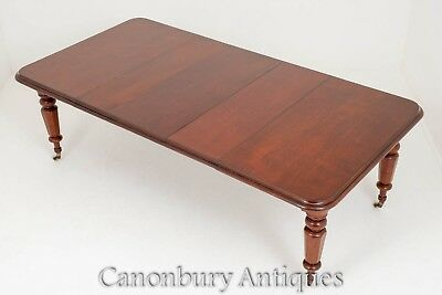 Victorian Extending Dining Table - Mahogany Tables