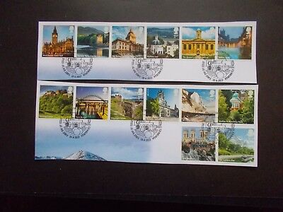 GB~2012~A to Z~2nd~Very Fine Used Set~on piece~ex fdc~UK Seller