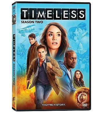 TIMELESS SEASON 2 DVD Brand New and Sealed UK COMPATIBLE Free Fast Postage