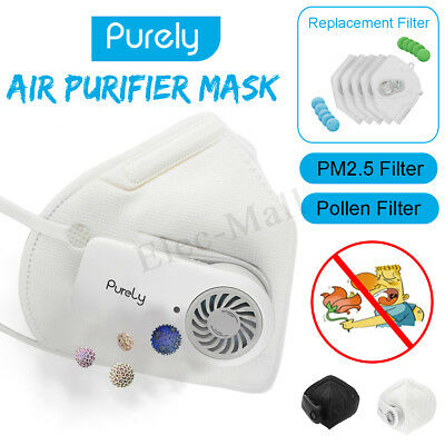 Xiaomi Anti-Pollution Dust Respirator PM2.5 Smog Filter Outdoor Cycling Air Mask