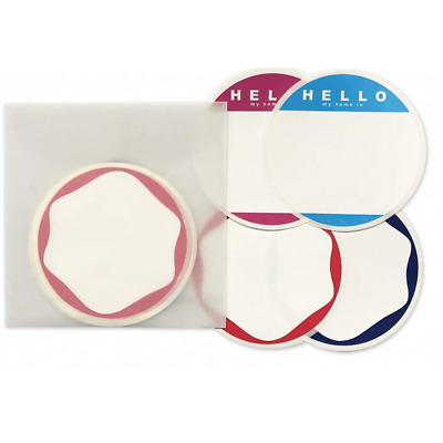 Egg Shell Circle Blank Pack