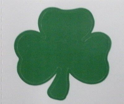 SHAMROCK TANNING STICKER  Stickers Scrapbooking Crafts 100 Count