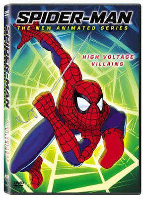 Spider-Man The New Animated Series High Voltage DVD