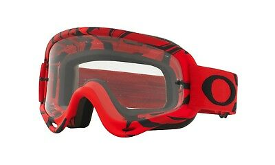 9553bf45a7 OAKLEY NEW MX O-Frame Intimidator Grey Lens Adult Red Motocross ...