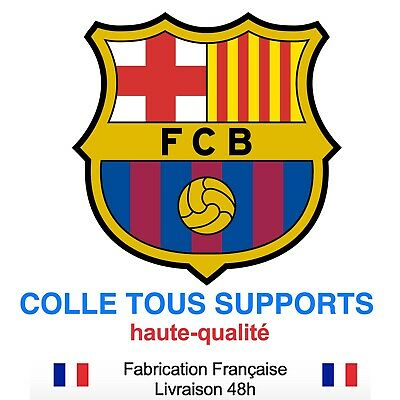 Stickers autocollant FC BARCELONE foot football, plusieurs tailles, super prix