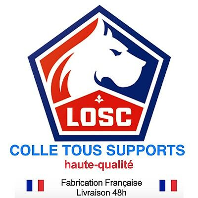 Stickers autocollant LILLE LOSC foot football, plusieurs tailles, super prix