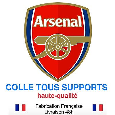 Stickers autocollant ARSENAL foot football, plusieurs tailles, super prix