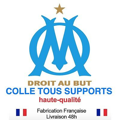 Stickers autocollant MARSEILLE OM foot football, plusieurs tailles, super prix