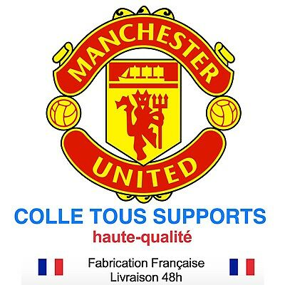 Stickers autocollant MANCHESTER foot football, plusieurs tailles, super prix